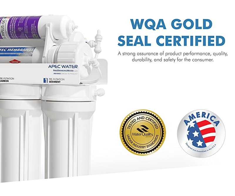 APEC Water ULTIMATE RO-PH90 WQA Gold Seal Certified