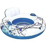 Bestway CoolerZ Luxus Schwimmreifen mit Rückenlehne, 119 cm