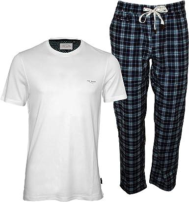 Ted Baker Camiseta Y Rebajas De Los Hombres Pijama Set, Gris ...