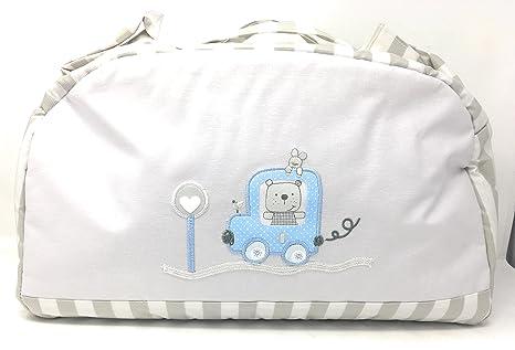 Bolso de Maternidad Plastificado lactancia para carrito bebe ...