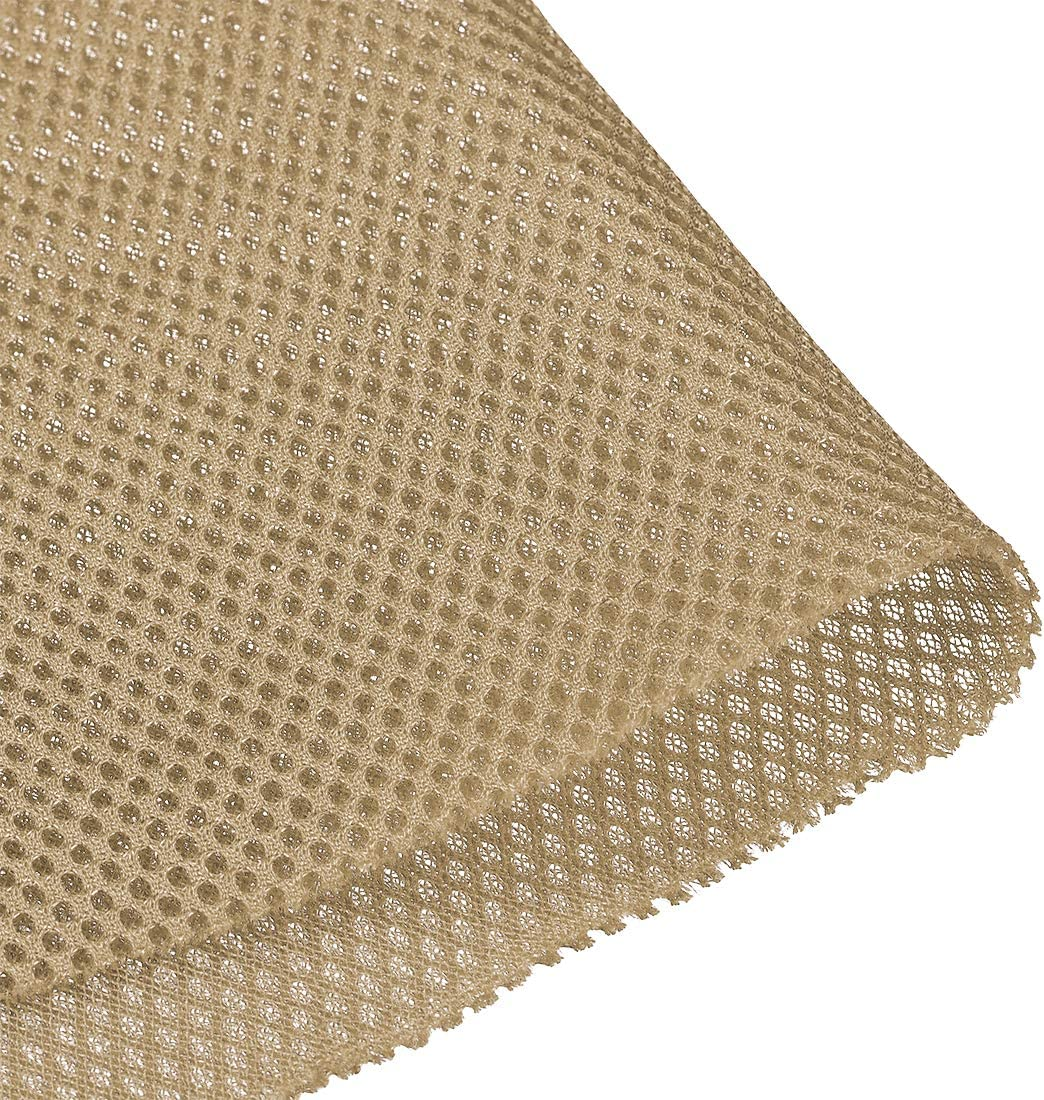 uxcell Light Khaki Speaker Mesh Grill Stereo Fabric Dustproof 1x1.45M 40 x 57 inch: Electronics