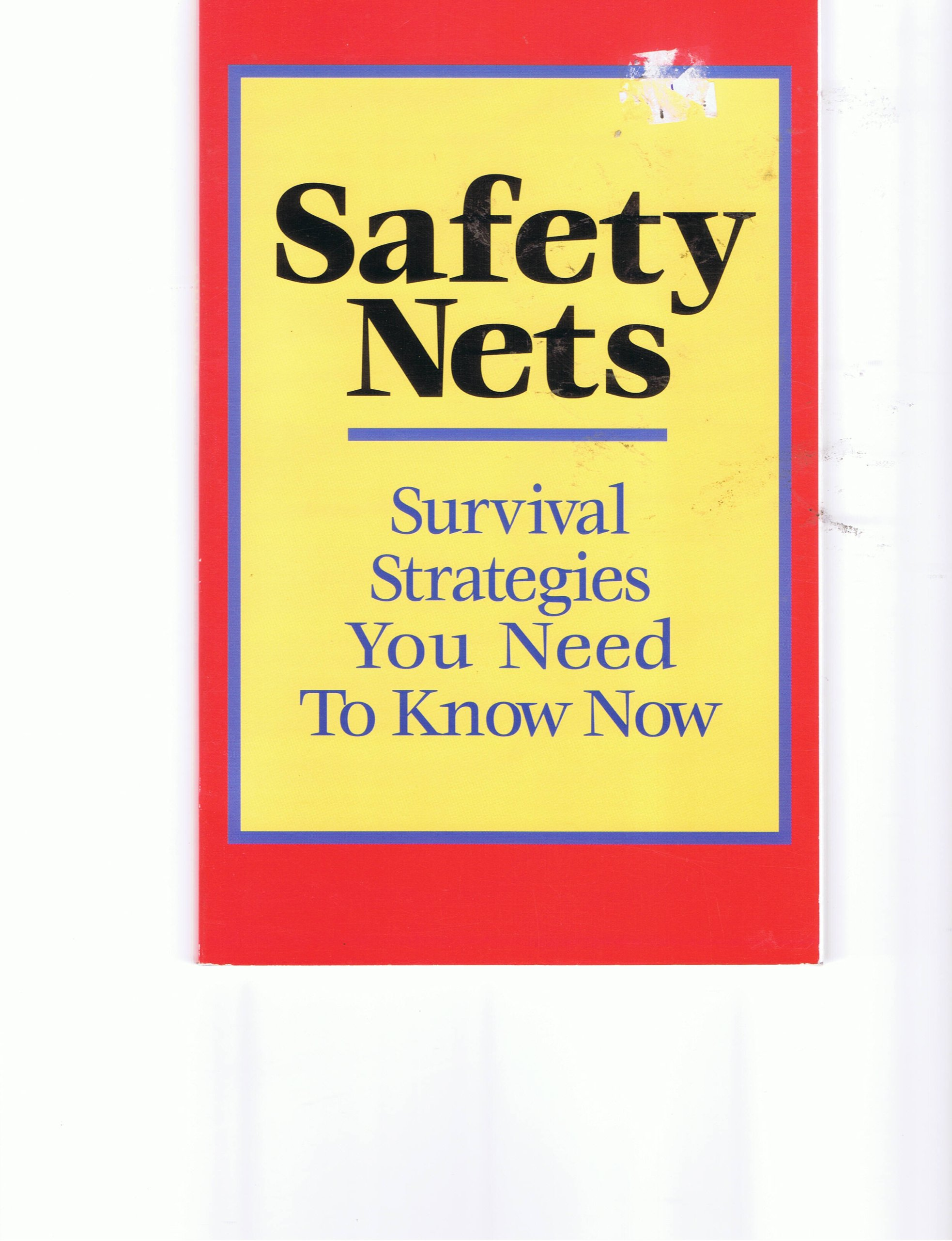 Safety Nets: Survival Strategies You Need to Know Now PDF