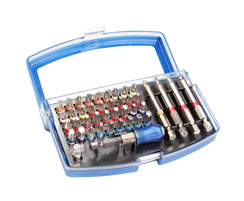 MK Handel 059 - Kit de destornillador con puntas intercambiables (1 ...