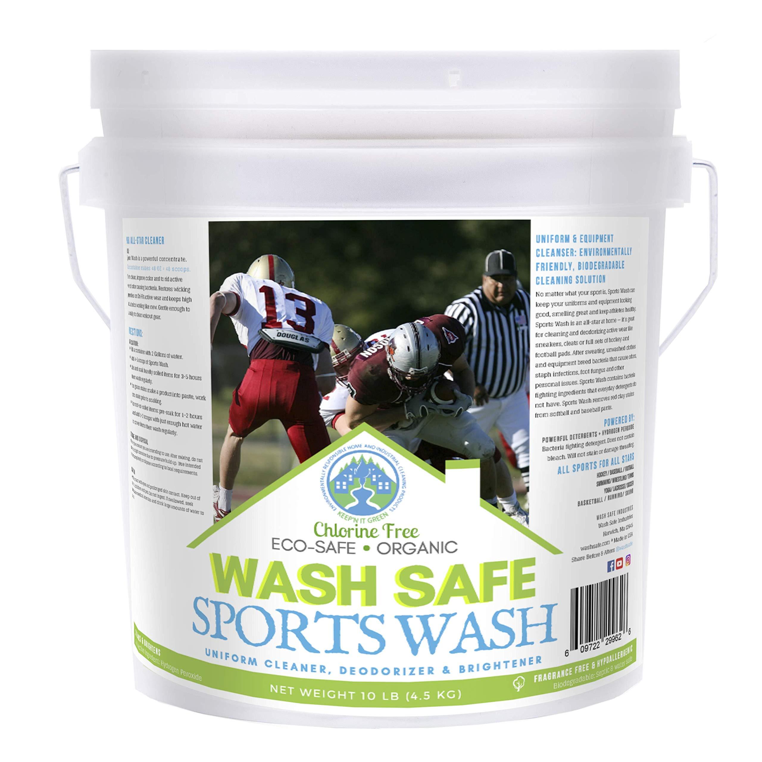 Wash Safe Industries All Star Sports Wash Laundry Detergent Powder by Wash Safe Industries