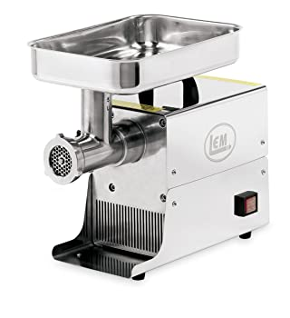 LEM Products W777 #5 LEM Stainless Steel .25HP Big Bite Grinder