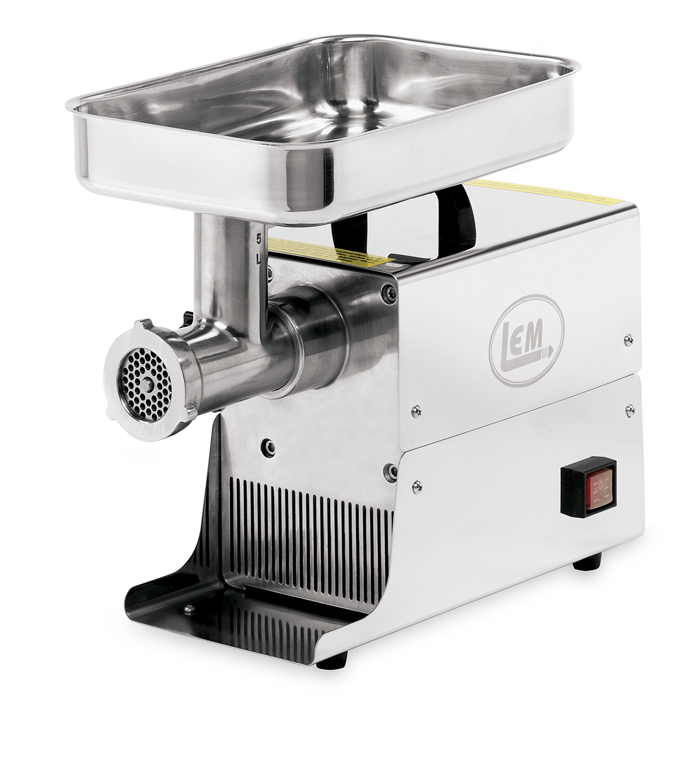 LEM Products W777 #5 LEM Stainless Steel .25 HP Big Bite Grinder