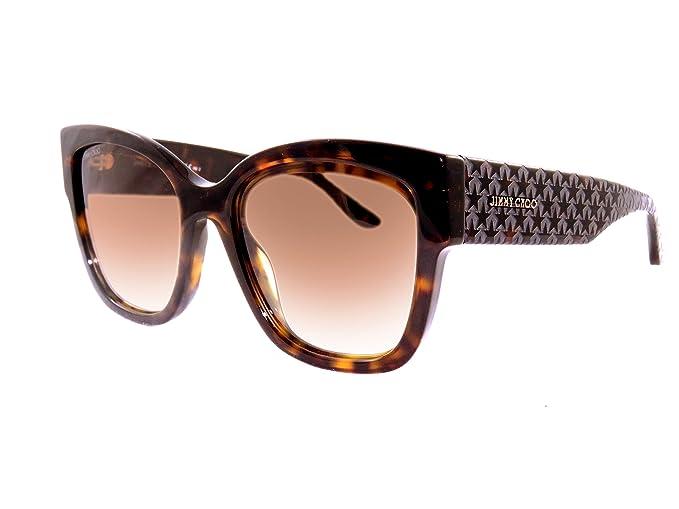 d73ed689d6 Jimmy Choo ROXIE-S-086-HA-55 Ladies ROXIE S 086 HA 55 Sunglasses   Amazon.co.uk  Clothing