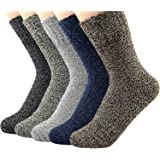 American Trends Women's Winter Thick Warm Casual Crew Socks Cute Animal Vintage Style Wool Knitting Sock
