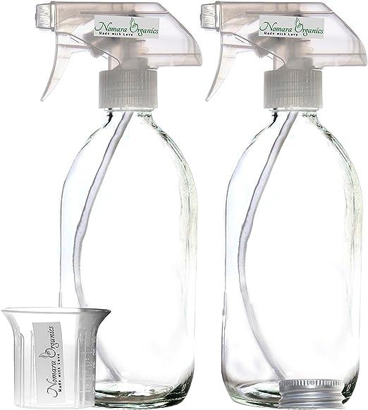 Nomara OrganicsTM - 2 Botellas de Vidrio de 500 ml sin BPA ...