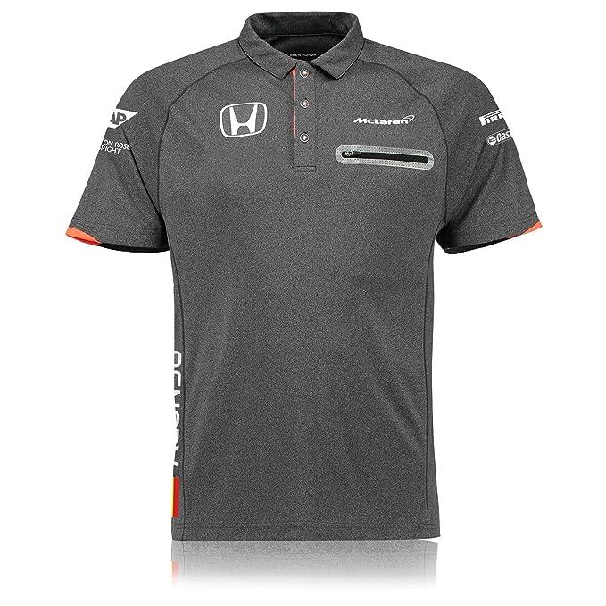 Polo McLaren Honda Oficial 2017 Fernando Alonso XL: Amazon.es ...