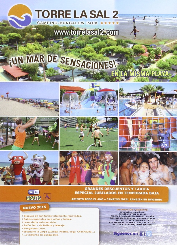 GUIA DE CAMPINGS 2016 DE ESPAÑA: Amazon.es: EDICIONES PELDAÑO, S.A.: Libros