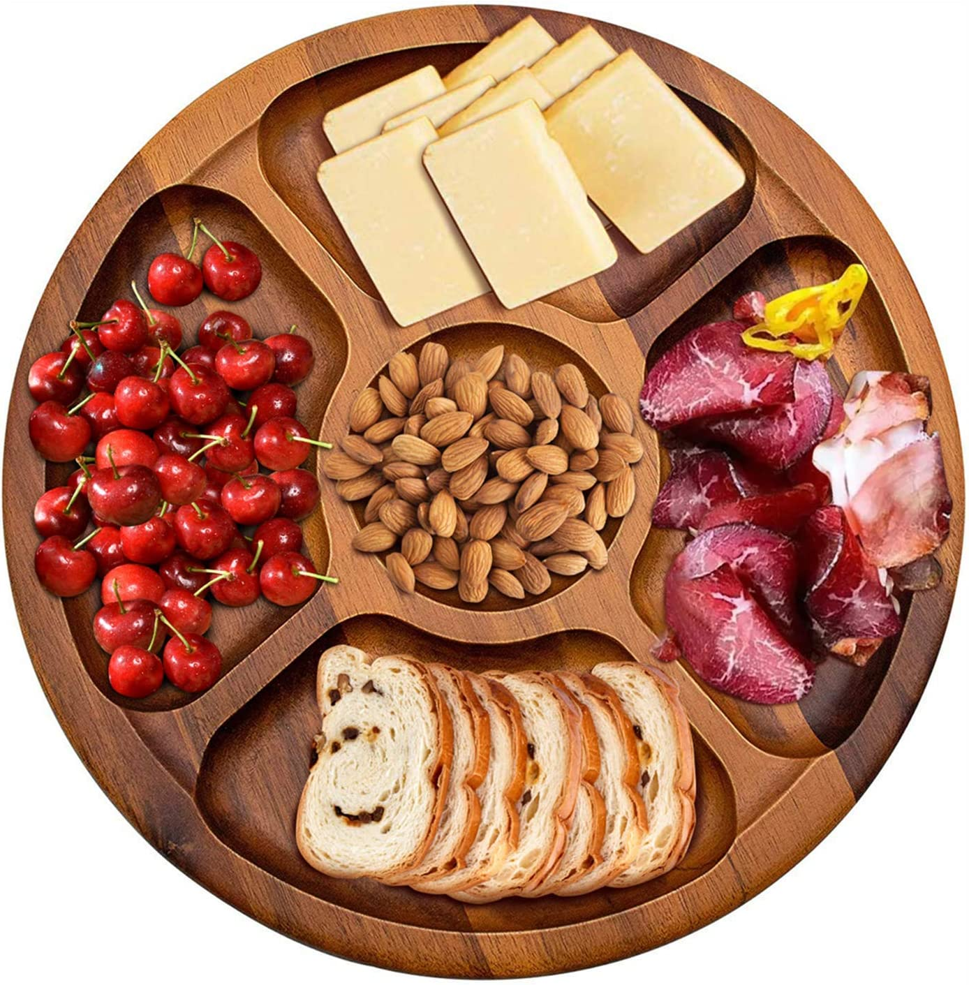 AIDEA Wood Cheese Board,Large Cheese Plate Charcuterie Board for Party/Gift