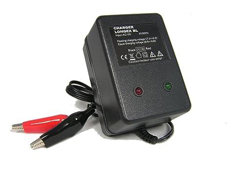 Cargador compatible batería plomo-ácido Gel Calcio AGM ...