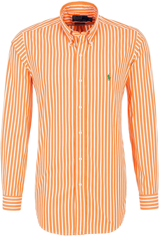 Polo Ralph Lauren - Camisa Casual - Rayas - para Hombre: Amazon.es: Ropa y accesorios