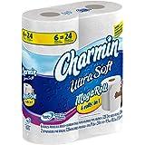 Charmin Ultra Soft Toilet Paper 6 Mega Rolls (Pack of 3)