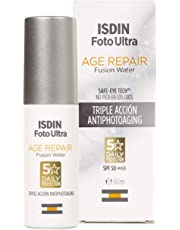 ISDIN FotoUltra Age repair FW SPF50, Protector Solar Facial de Uso Diario, Triple Acción Antienvejecimiento, 50ml
