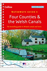 Four Counties and the Welsh Canals: Waterways Guide 4 (Collins Nicholson Waterways Guides) Kindle Edition