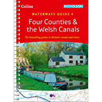 Four Counties and the Welsh Canals: Waterways Guide 4 (Collins Nicholson Waterways Guides)