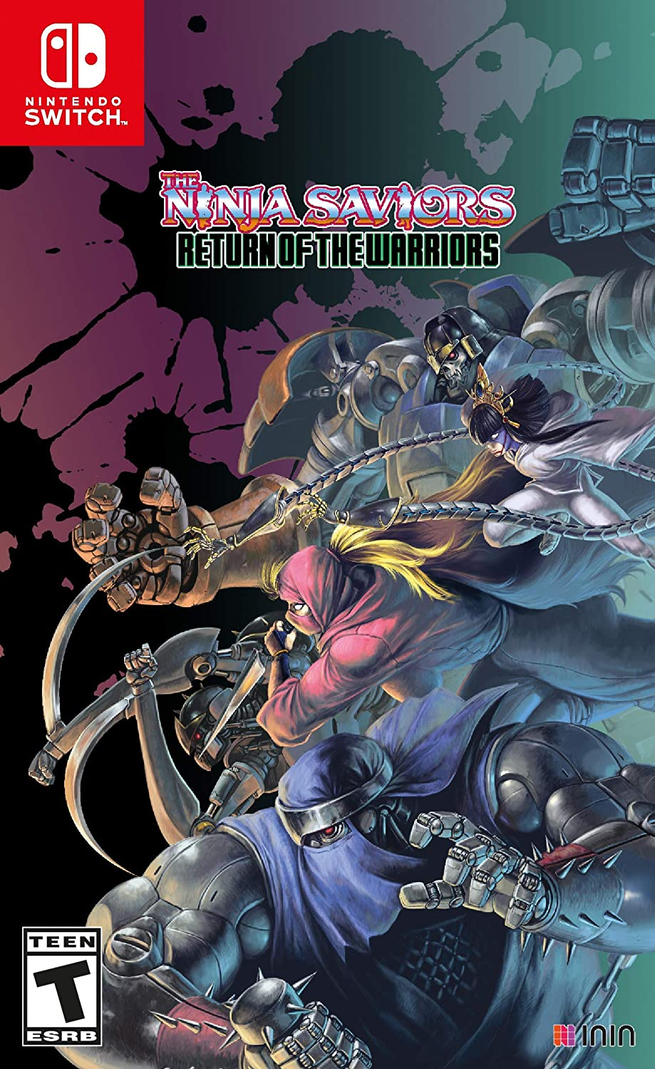 The Ninja Saviors Return of the Warriors for Nintendo Switch ...