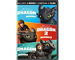 How to Train Your Dragon: 3-Movie Collection (Bilingual)