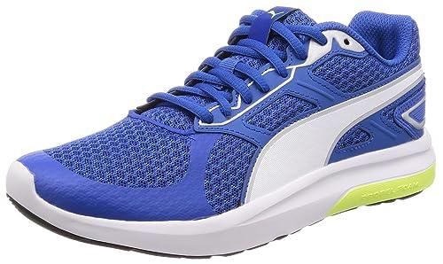 Puma Men s Escaper Tech Turkish Sea White Sneakers-10 UK India (44.5 ... 9703444f7