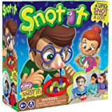 KD Games S18610 SNOT IT Board Game, Red, Yellow, Green, Blue