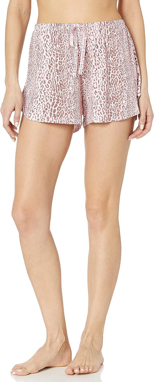 HUE Women's Well with Temp Tech Boxer Pajama Sleep Short
