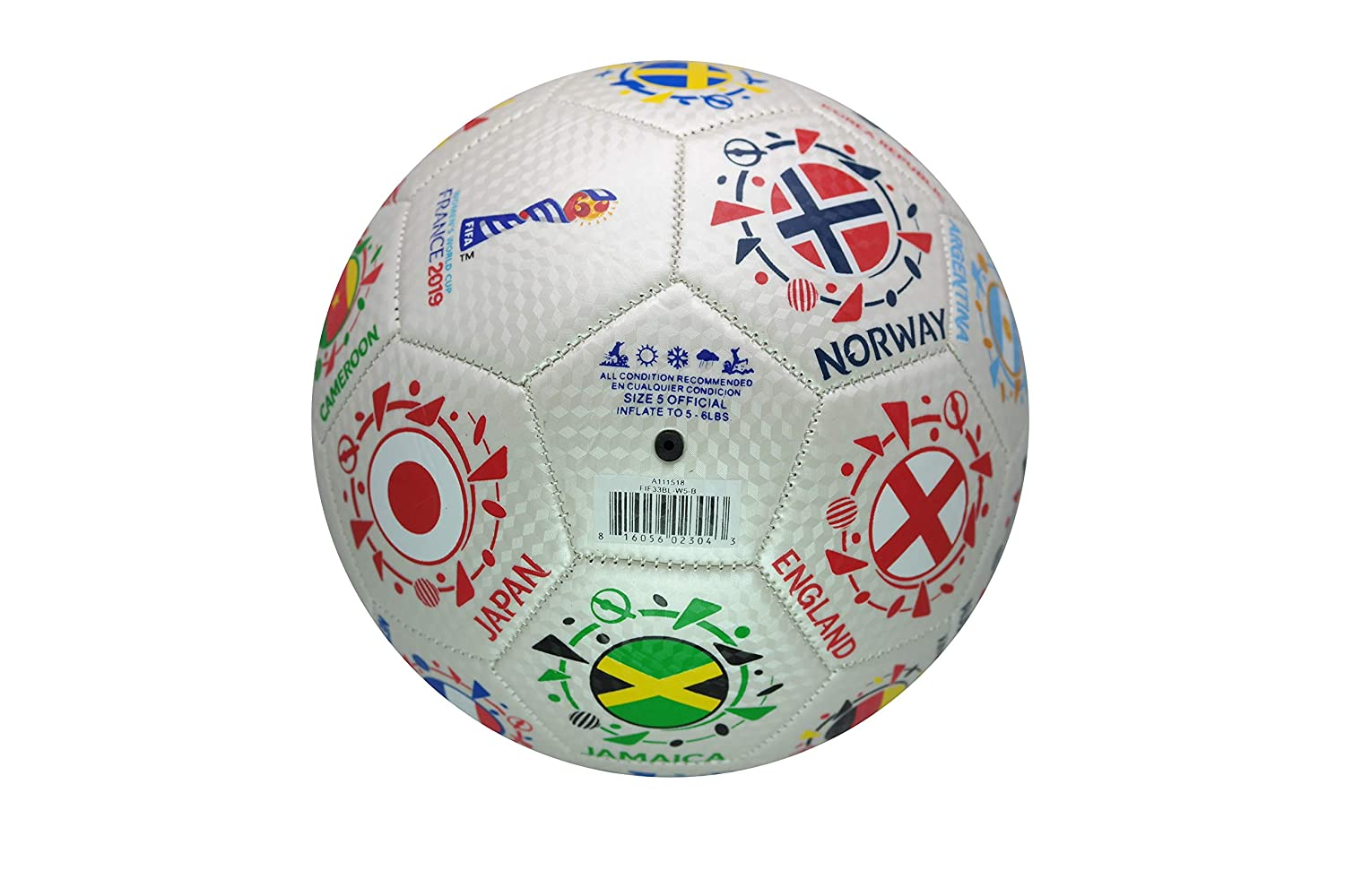 FIFA Womens World Cup France 2019 Official Licensed Soccer Ball