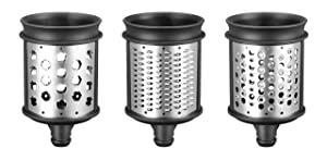 KitchenAid 5KSMEMVSC Shredding and Grating Pack (Optional Accessory for KitchenAid Stand Mixers)