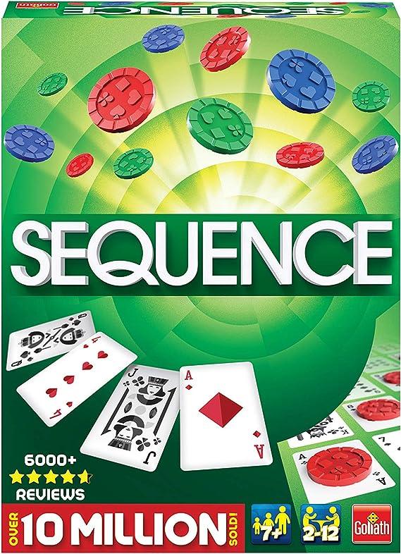 Winning Moves - Juego de Mesa Sequence (Importado de Reino Unido): Amazon.es: Juguetes y juegos