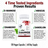 New! D-Mannose 1000mg w Cranberry [HIGH