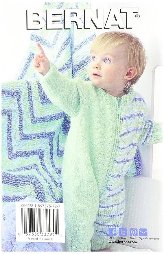 Spinrite Bernat para Tejer y Crochet Patrones, it s a Boy Baby coordenadas: Amazon.es: Hogar