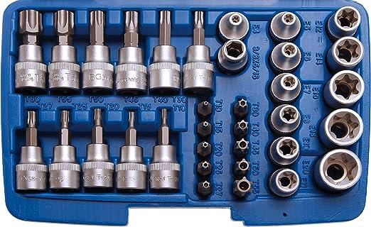 """3//8/"""" BGS Bit Torx Antrieb 10 mm T60 Bits Einsatz T-Profil 30 mm lang T10"""