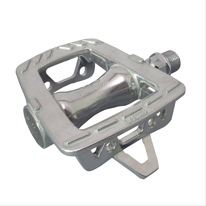 """MKS GR-9 Road Bike Alloy Platform Pedals 9//16"""" Silver"""