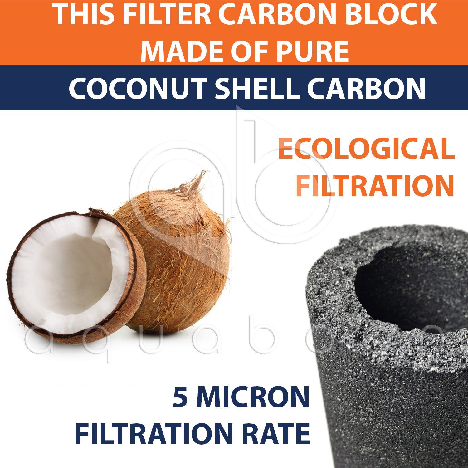 Replacement Water Filter Set Cto Gac Sediment All 5 Nano 10in Mikron Micron Fit Most Ro Units Home Kitchen