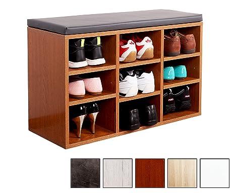 ricoo schuhregal mit sitzflache schuhschrank wm035 er a schuhablage schuhkommode organizer boden standregal garderobe