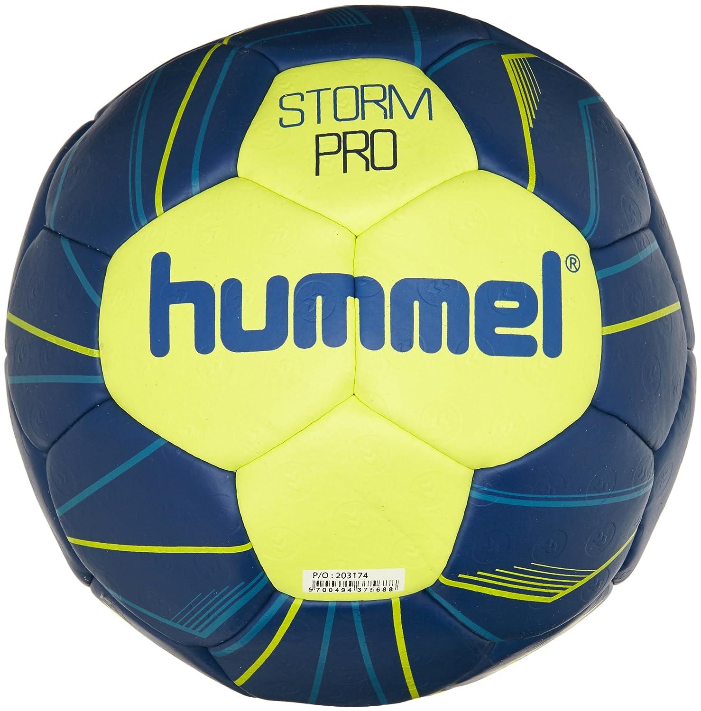 Balonmano Hummel Adult Storm Pro HB, azul neón / verde neón, 3 ...