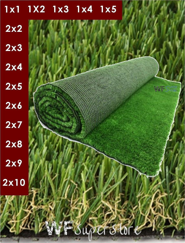 Erba Sintetica altezza 30 mm. - Tappeto prato sintetico artificiale finto (1x4)