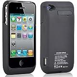 TRIXES 3000 mAh iPhone 4 4S Battery Case Power Bank