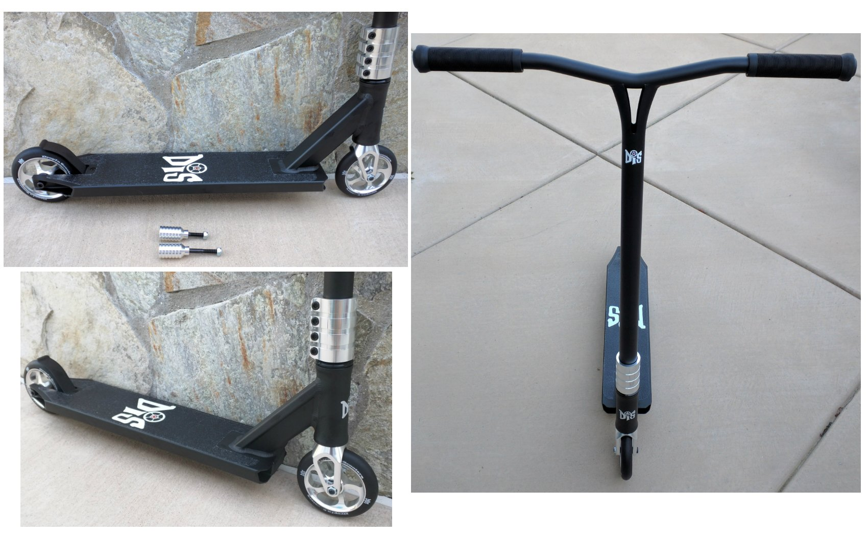 DIS Assault 120 Custom Pro Complete Scooter Professionally Assembled