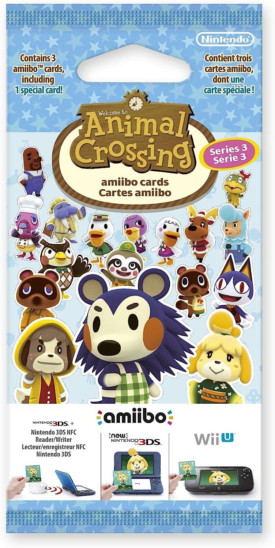 Nintendo Animal Crossing Amiibo Cards Triple Pack - Series 3 - Accesorios para Videojuegos (Multicolor, De plástico): Amazon.es: Videojuegos