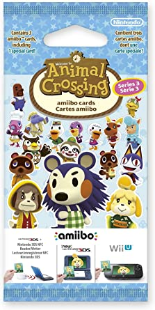 Nintendo Animal Crossing Amiibo Cards Triple Pack - Series 3 ...