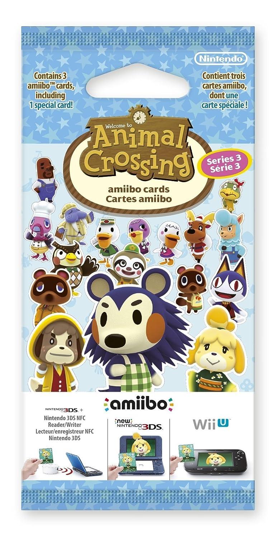 Nintendo - Pack De 3 Tarjetas amiibo Animal Crossing HHD, Serie 3 ...