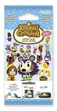 Nintendo - Pack De 3 Tarjetas amiibo Animal Crossing HHD ...