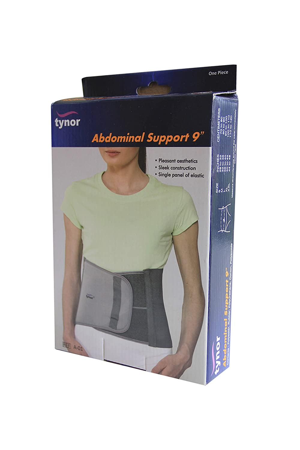 f0fe3dc01 Buy Tynor Abdominal Support 9 For Post Operative  Post Pregnancy - Large  (36-40 inches) Online at Low Prices in India - Amazon.in