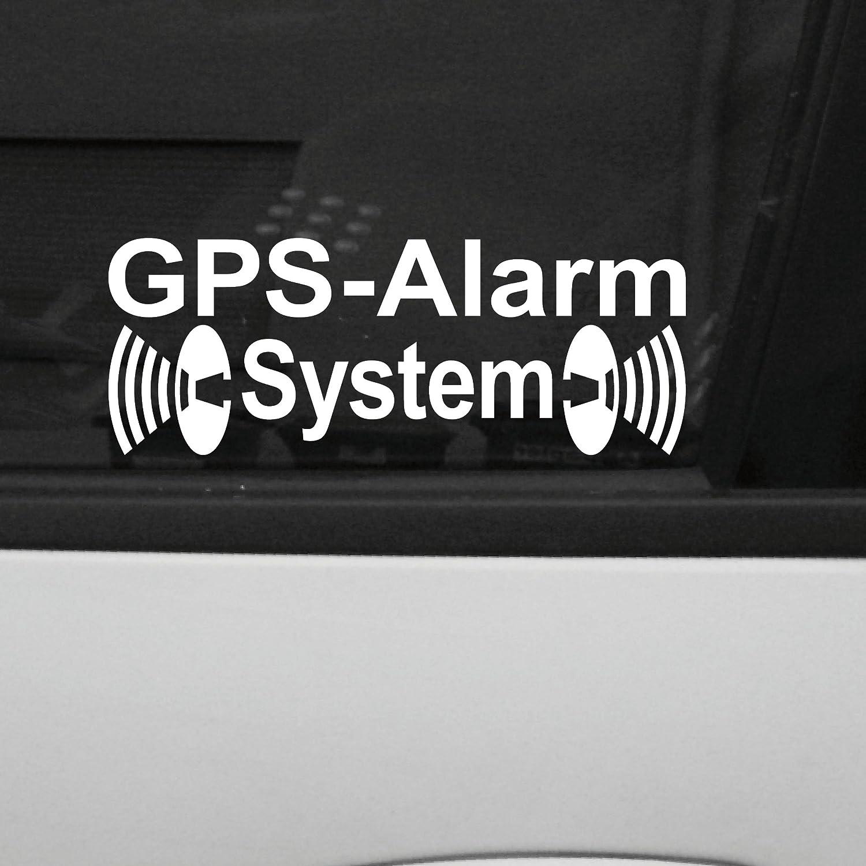 Lapyx: alarma coche sistema GPS, pegatina de 31 x 84 mm para ...