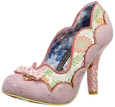 Irregular Choice 4331-16B, Escarpins Bout fermé FemmeRoseRose (Pink B), 40