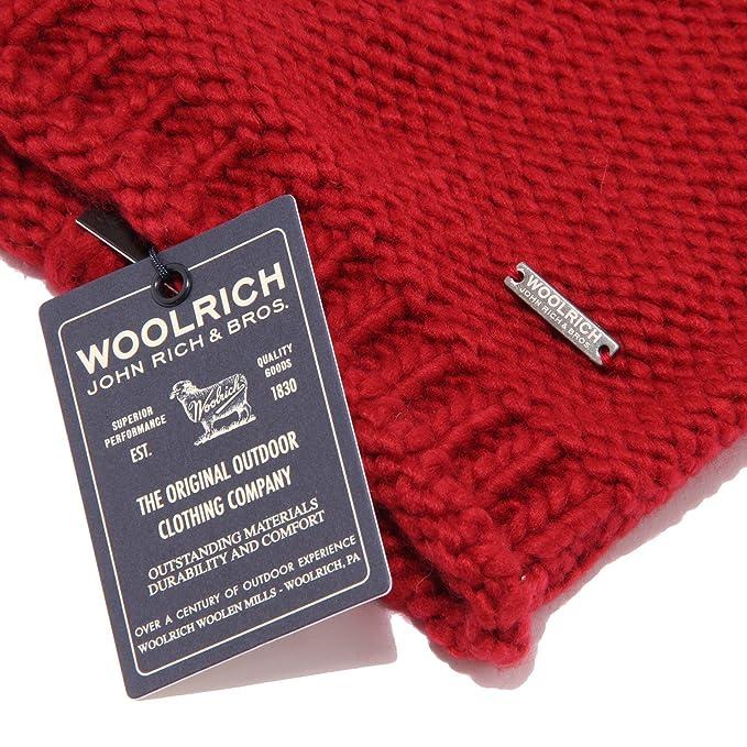 Woolrich 7233S cuffia donna rosso cappello hat woman  M-38 cm   Amazon.fr   Vêtements et accessoires 042ab8e3b193