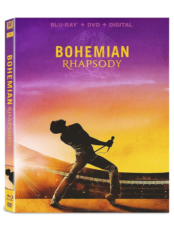 Amazoncom Bohemian Rhapsody Blu Ray Rami Malek Lucy Boynton