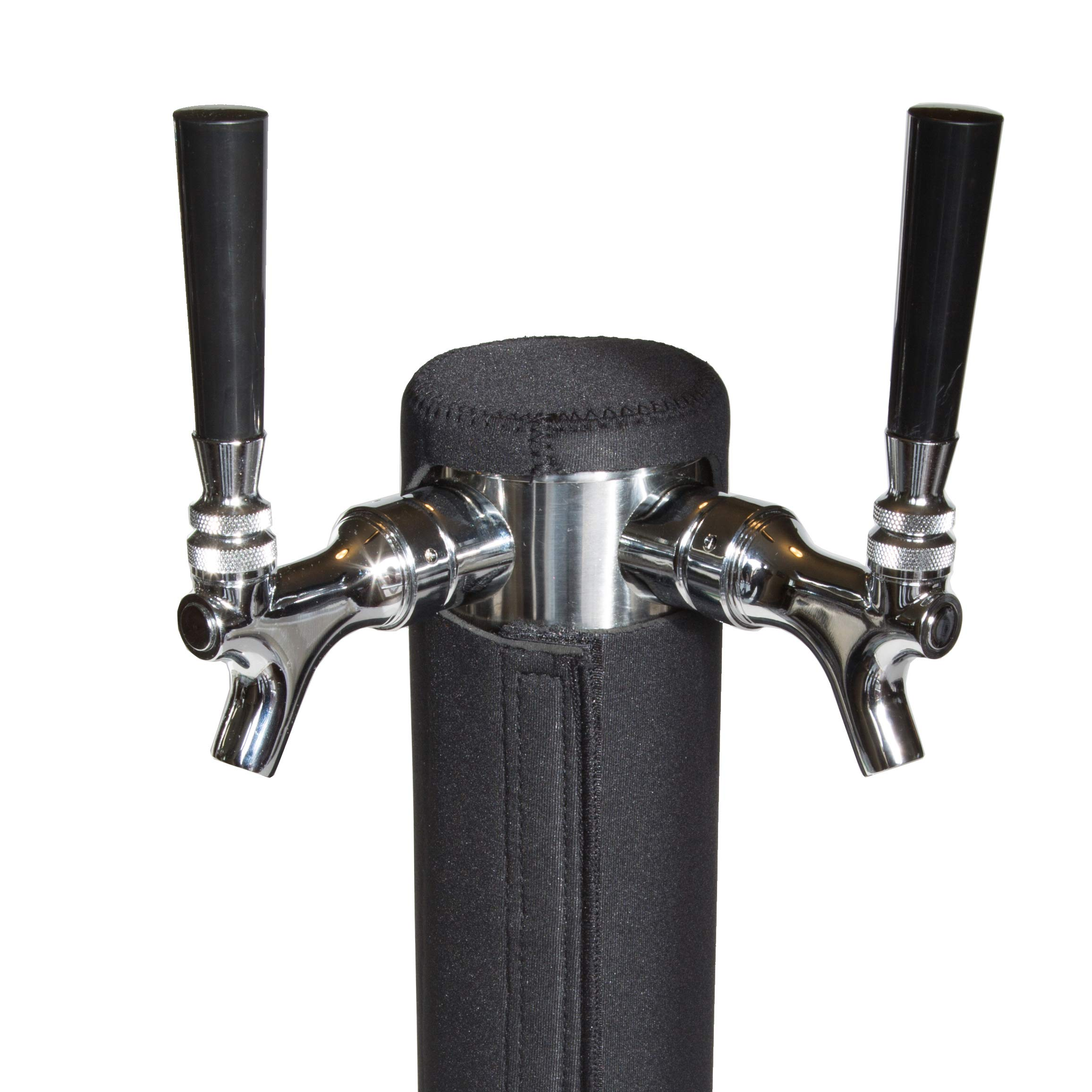 Kegerator Tower Cooler Insulator for Beer Tap Towers by Redwood Brew Supply (3.0'' Diameter Double Tap Plus Beer Tower)